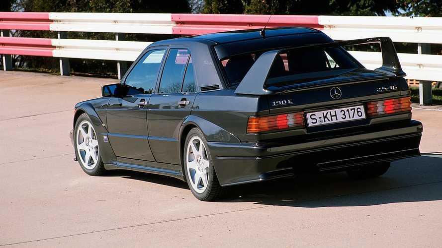 Mercedes 190 E 2.5-16 Evo II, 30 anni in forma smagliante