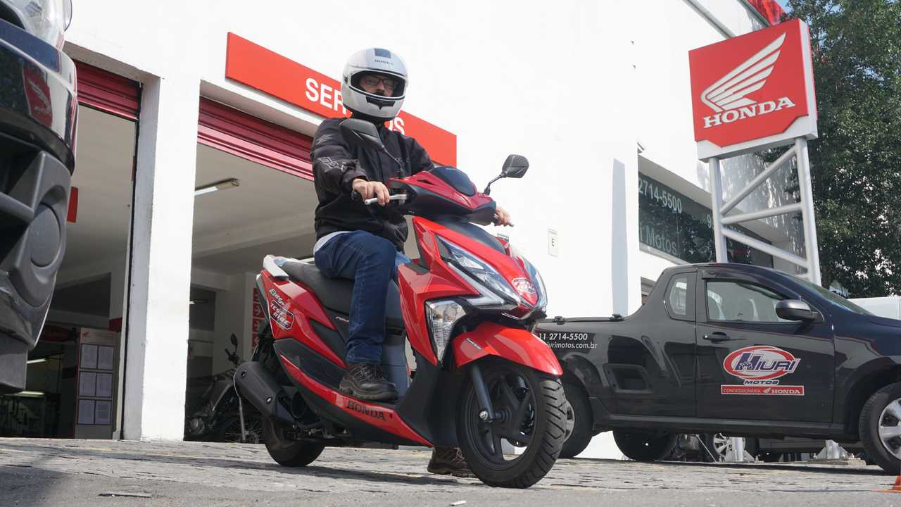 Honda Elite 125 (Test Ride)