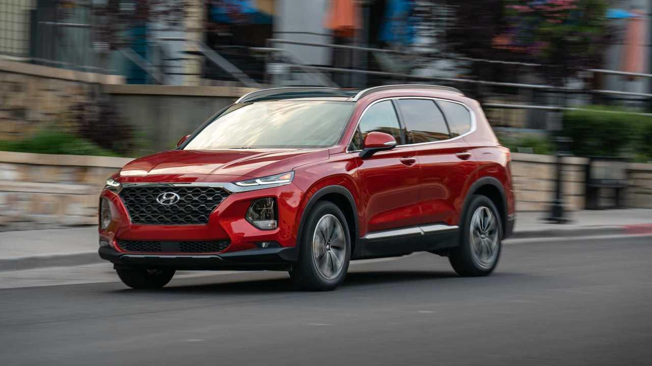 8. 2019 Hyundai Santa Fe: 6.7/10