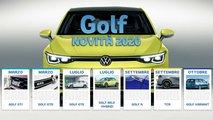 nuova volkswagen golf 8 tutte versioni 2020