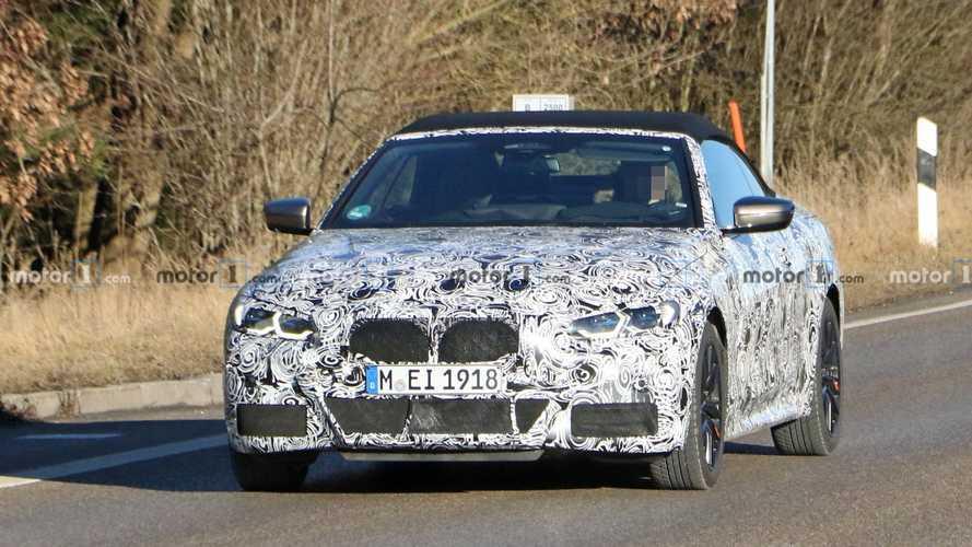 BMW 4 Series Convertible yeni casus fotoğraflar