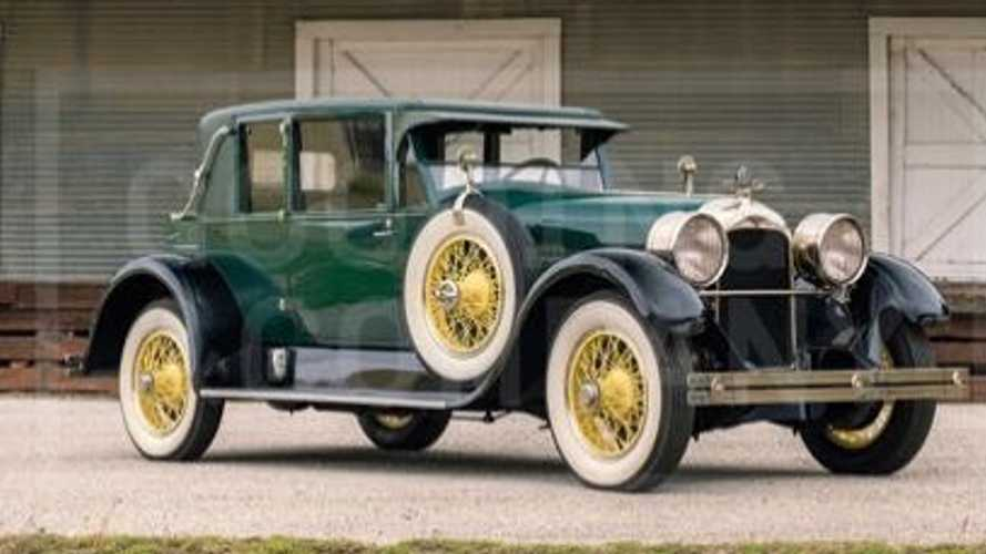 Bid On A 1926 Duesenberg Model A Opera Coupe