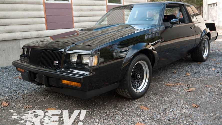 Take Home An Original 1987 Buick GNX With Less Than 8K Miles