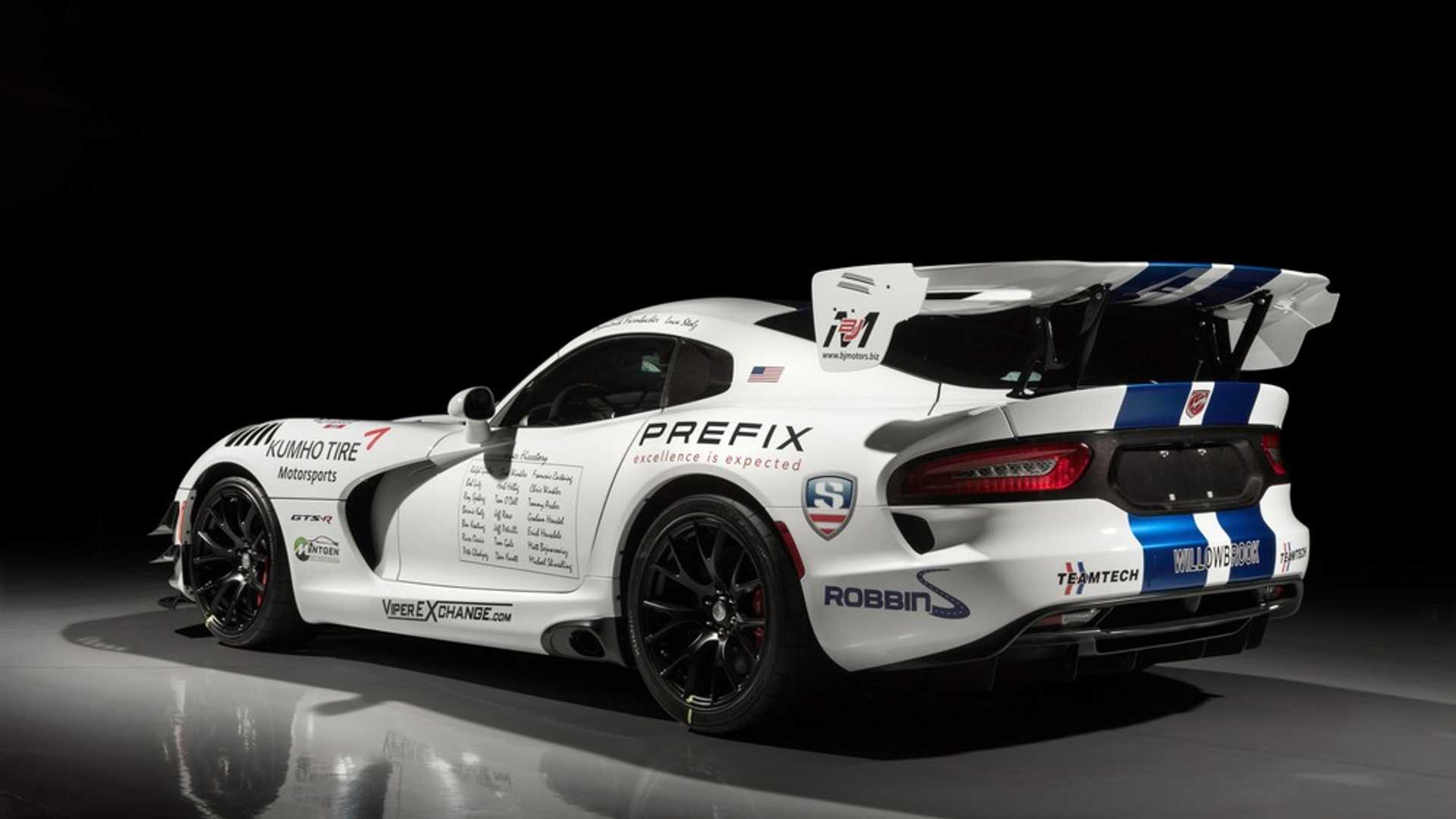 "[""Bid On An Ultra-Rare 2017 Dodge Viper GTS-R Nürburgring Edition""]"