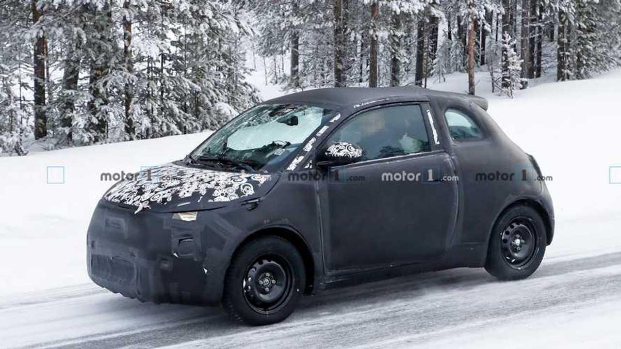 Fiat 500e Yeni Casus Fotoğraflar