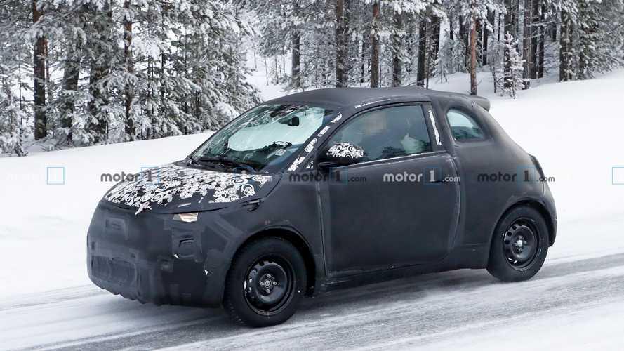 Yeni nesil Fiat 500e, yoğun kamuflajlı gövdesi ile kameralara takıldı