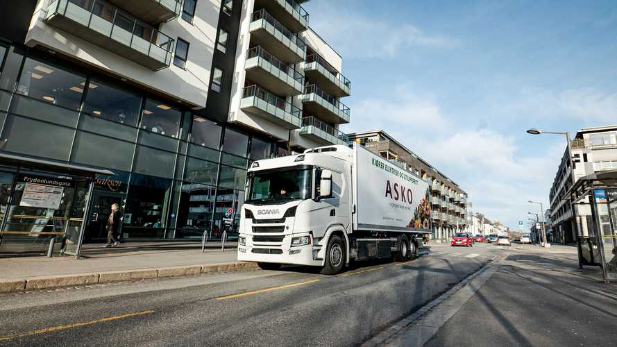 Scania To Deliver Up To 75 Electric Trucks To ASKO In 2020-2022