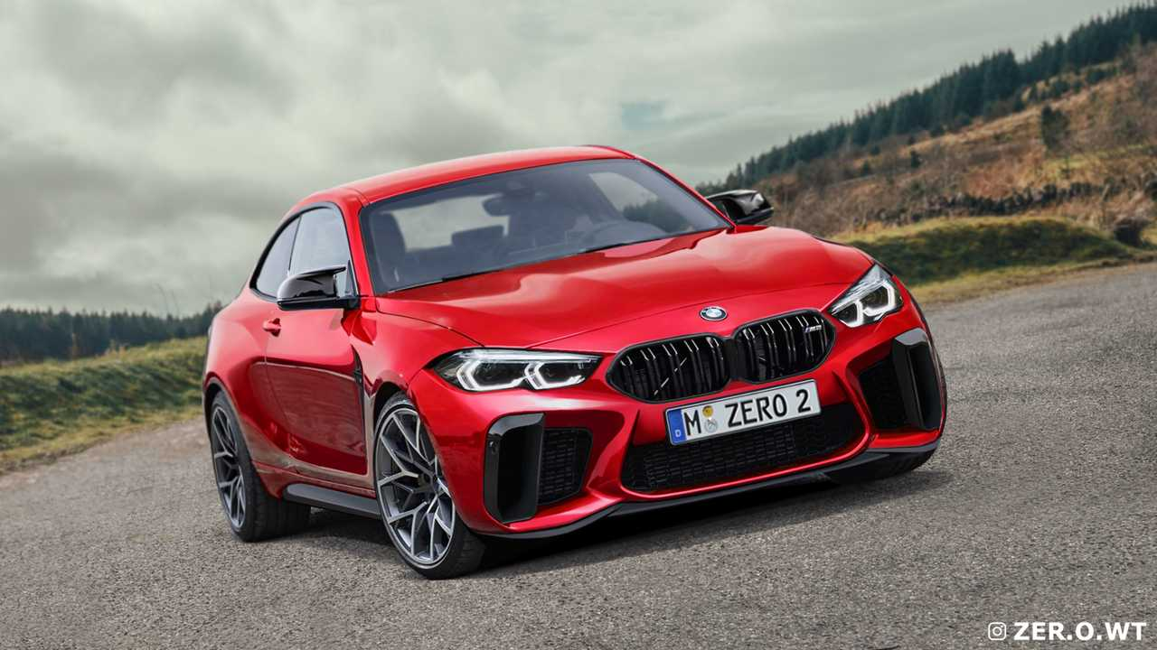 2022 BMW M2 Kırmızı Corsa