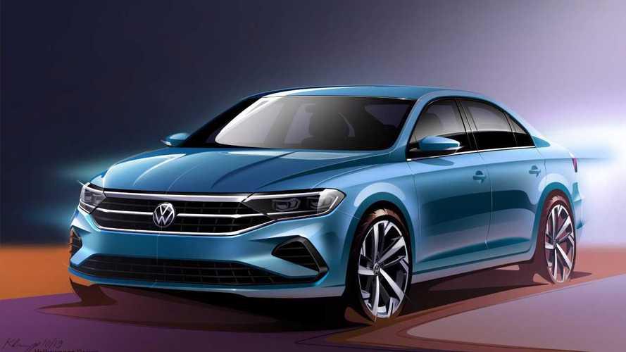 Volkswagen Polo Sedan repaginado fará papel do Virtus na Rússia