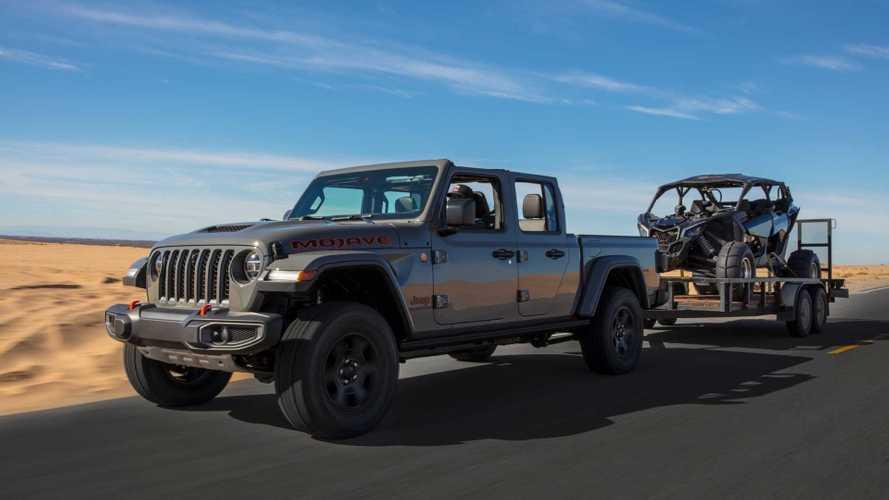 Jeep Gladiator подготовили для преодоления пустынь