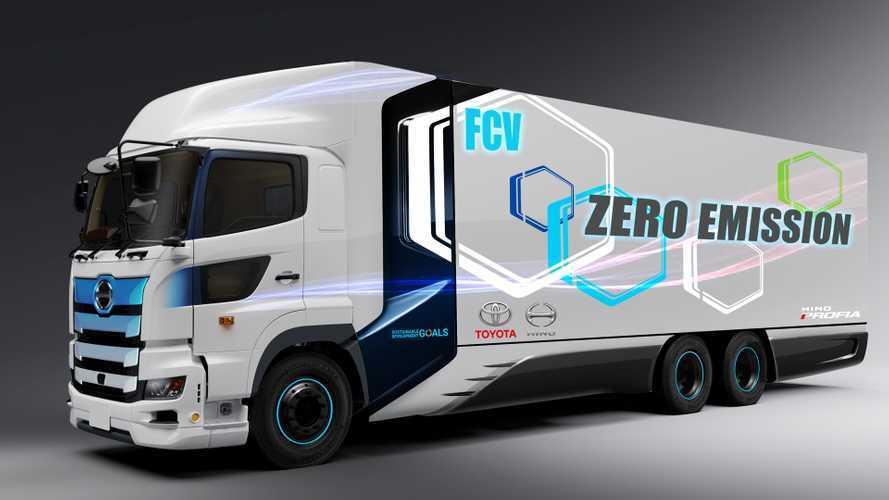 Camion a idrogeno, Toyota e Hino presentano il loro progetto