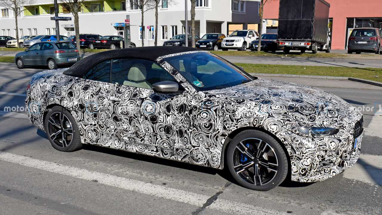 Nuova BMW Serie 4 Cabrio, le spy photo