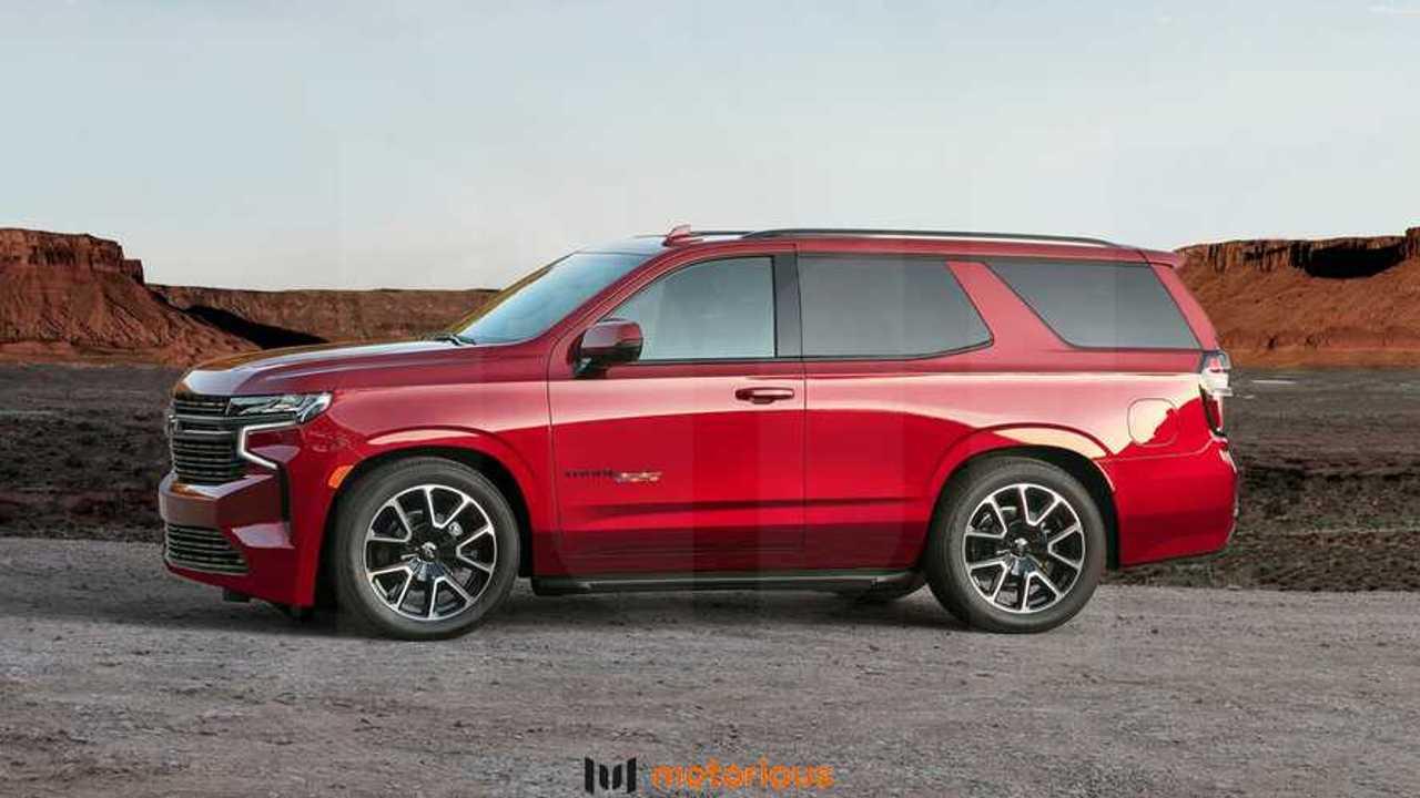 2021 Chevrolet Tahoe Reimagined With Two-Door ZR2, SS Renderings
