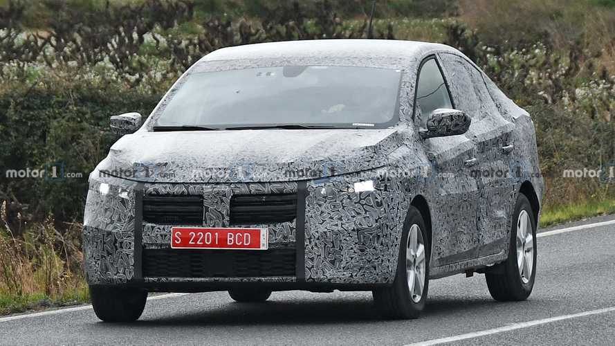 Flagra: Novo Dacia Logan 2021