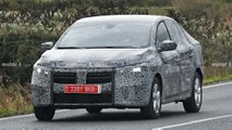 2021 Dacia Logan spy photos