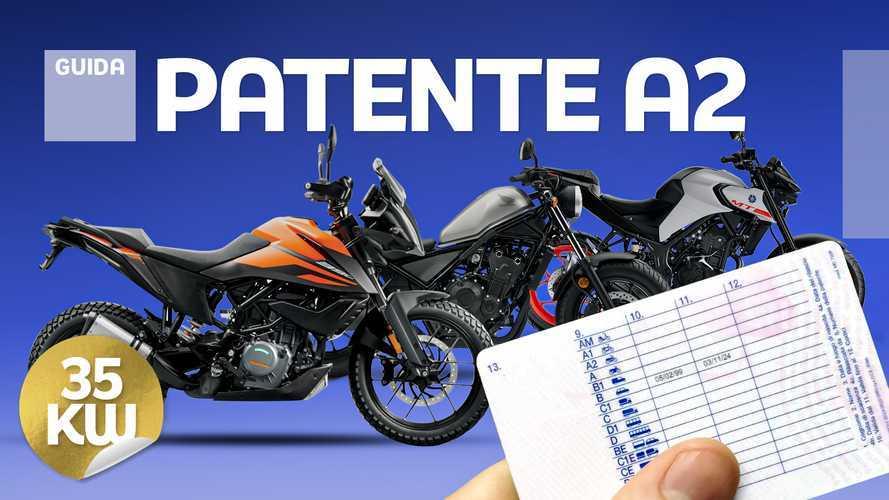 Le novità  del 2020 per i patentati A2