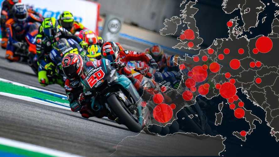 Coronavirus: tutte le gare motociclistiche annullate o rimandate