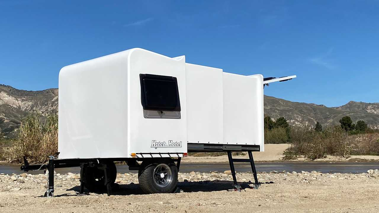Hitch Hotel Traveler Adds Wheels To World's Smallest RV Option