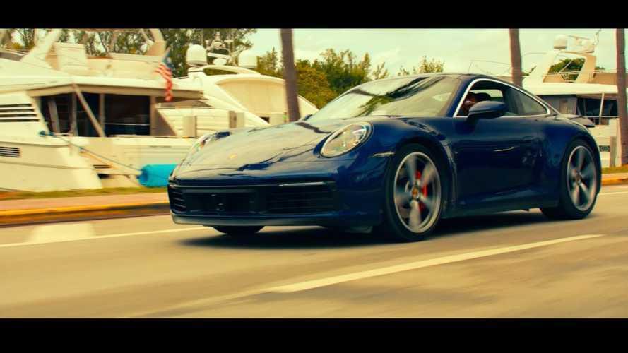 Porsche 911 Carrera Hits The Beach In Bad Boys For Life Clip
