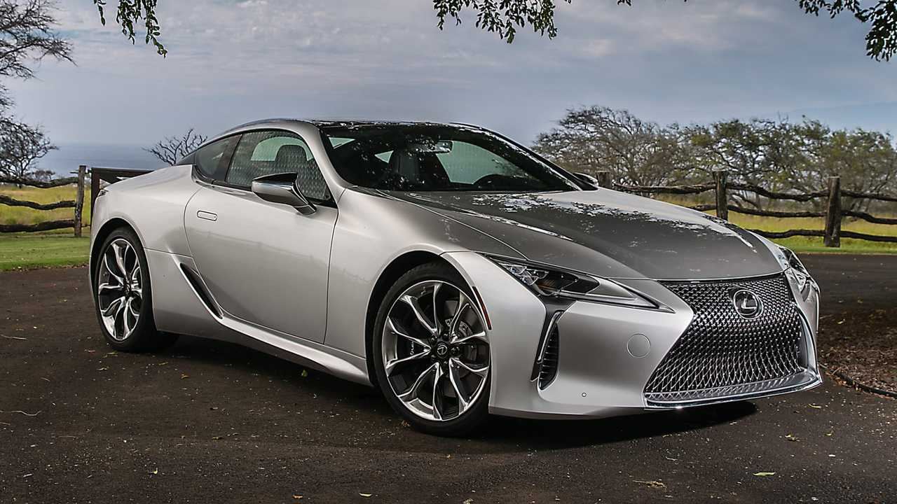Lexus LC Loses Weight For 2021, Gains New Colors And Wheels - Motor1
