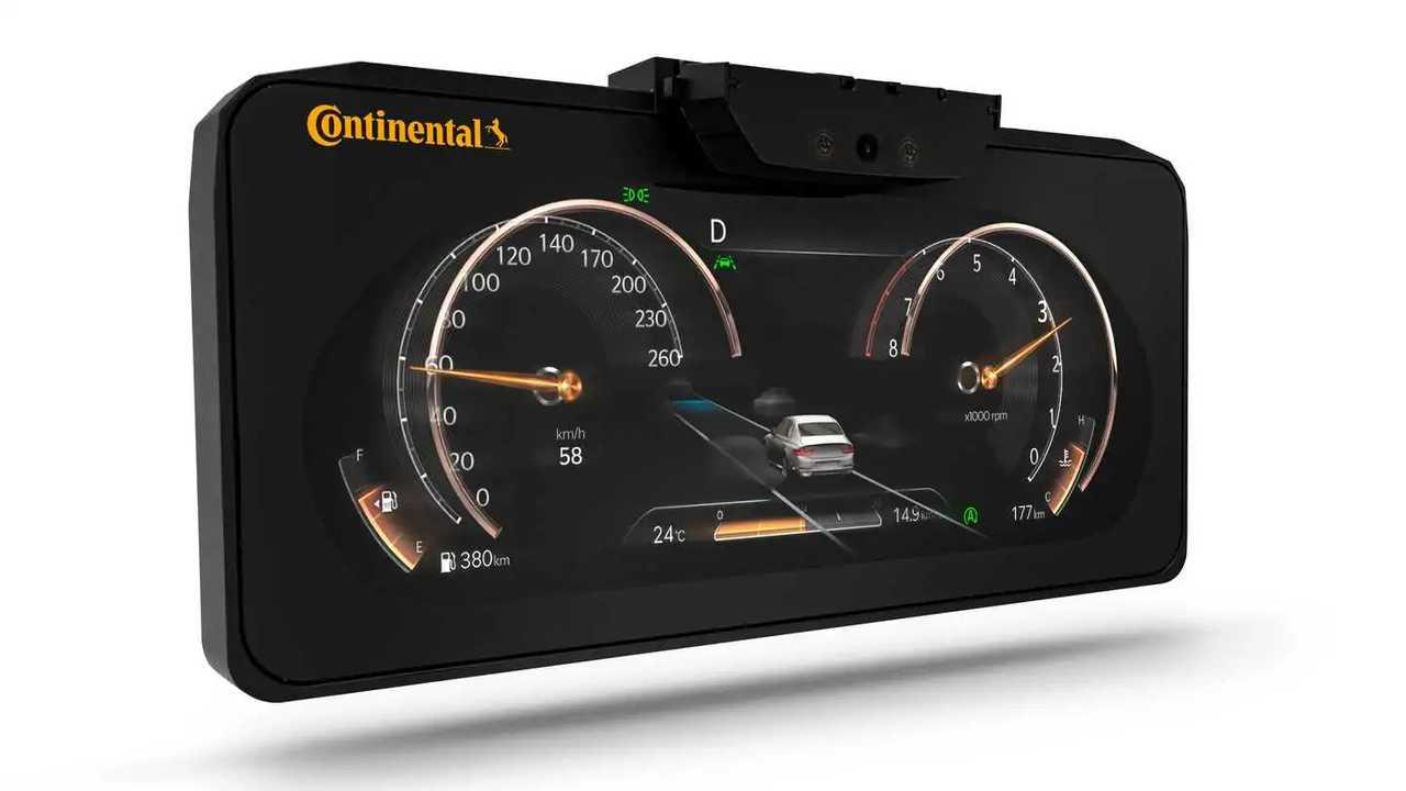 Continental 3D Ekran