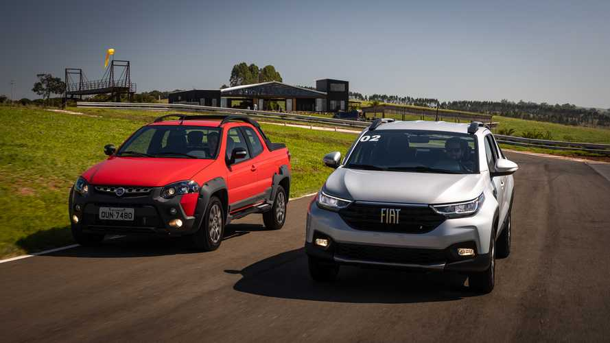 Exclusivo: Nova Fiat Strada Volcano 2021 x Strada Adventure 2019