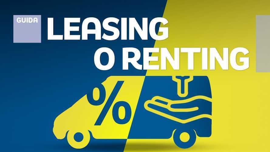 Leasing e noleggio furgoni, che differenza c'è