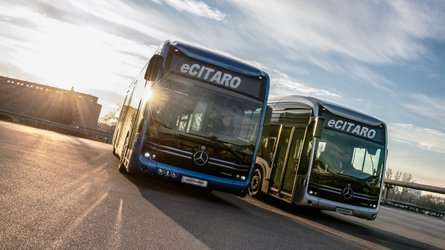 Mercedes-Benz eCitaro With Fuel Cell Range Extender Coming