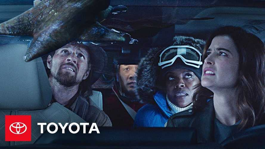 Toyota Highlander'ın Super Bowl reklamında tanıdık bir yüz oynuyor