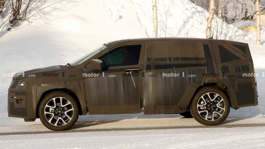Mystery SUV Spied For The First Time - Is It Fiat Or Jeep?