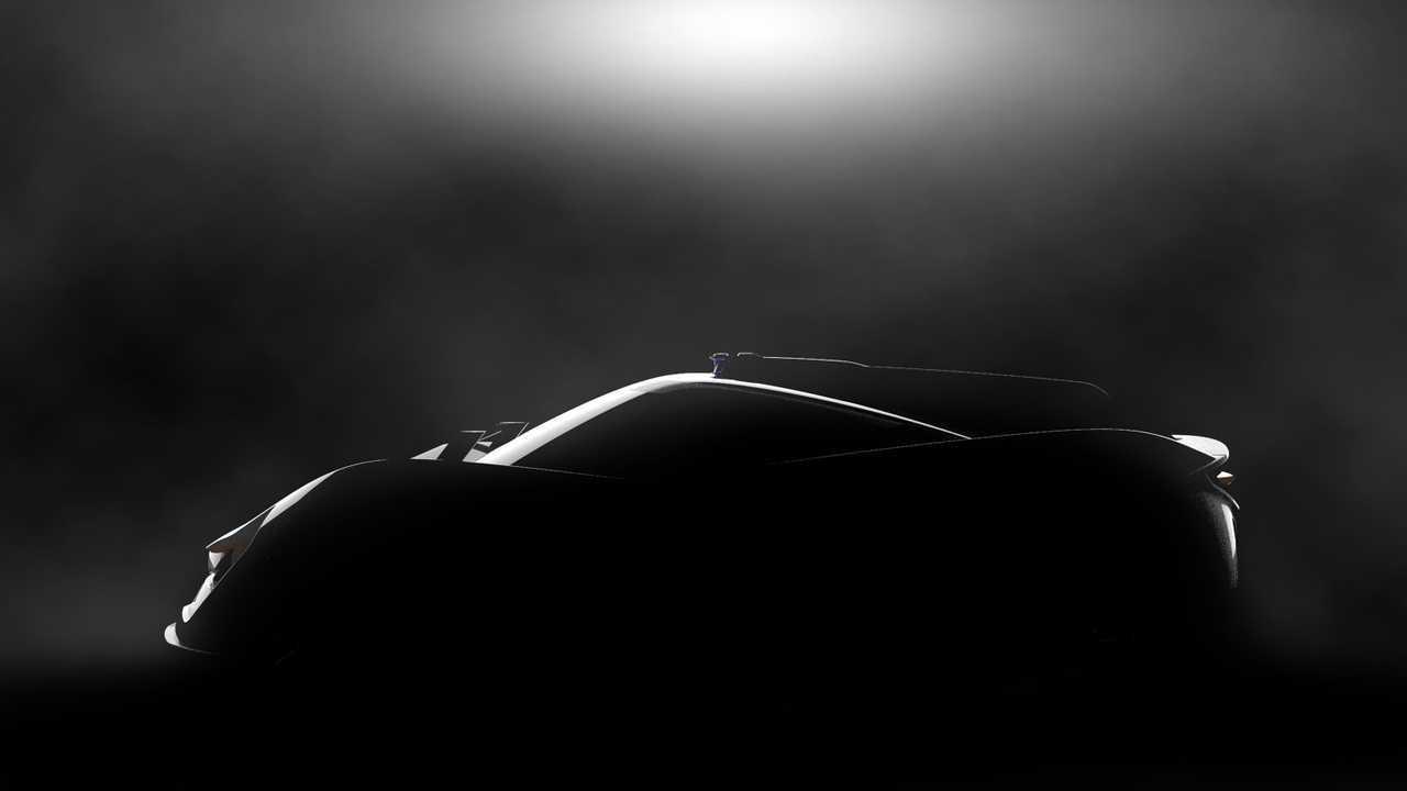 APEX teases AP-0 electric sports car concept ahead Geneva