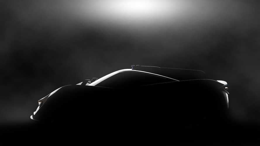 APEX teases AP-0 electric sports car concept ahead Geneva