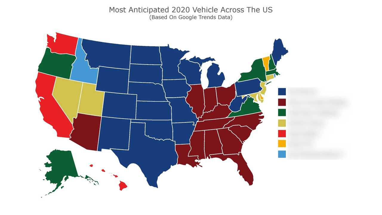 Electric Vehicles Are The Most Anticipated 2020 Cars In 12 States