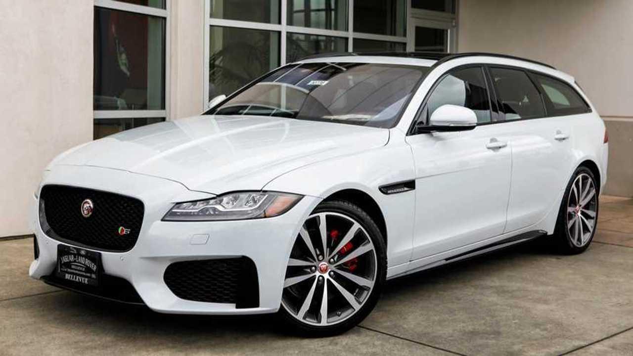Jaguar Dealer Selling Leftover 2018 XF Wagon For $20,000 Off MSRP