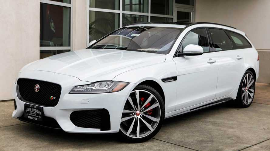 Jaguar Dealer Selling Leftover 2018 XF Wagon For $20,000 Off MSRP