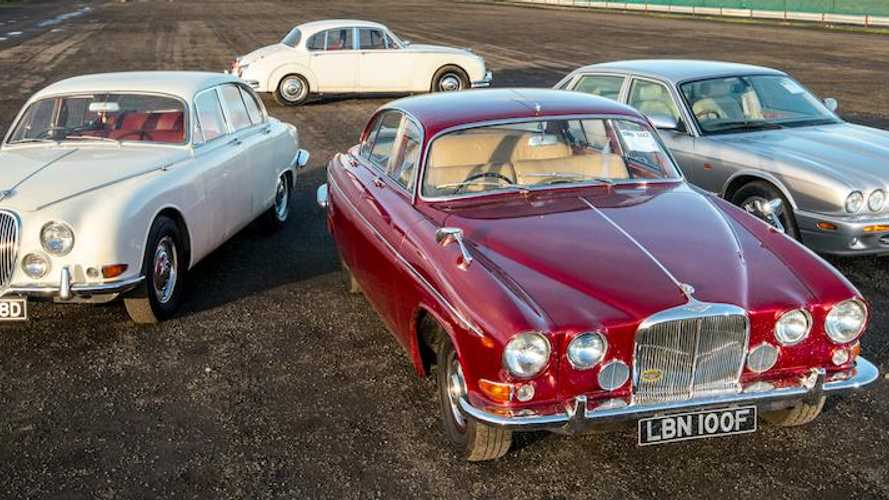 Cat fight: Jaguar 420 G, MkII, S-type and XJ8 driven
