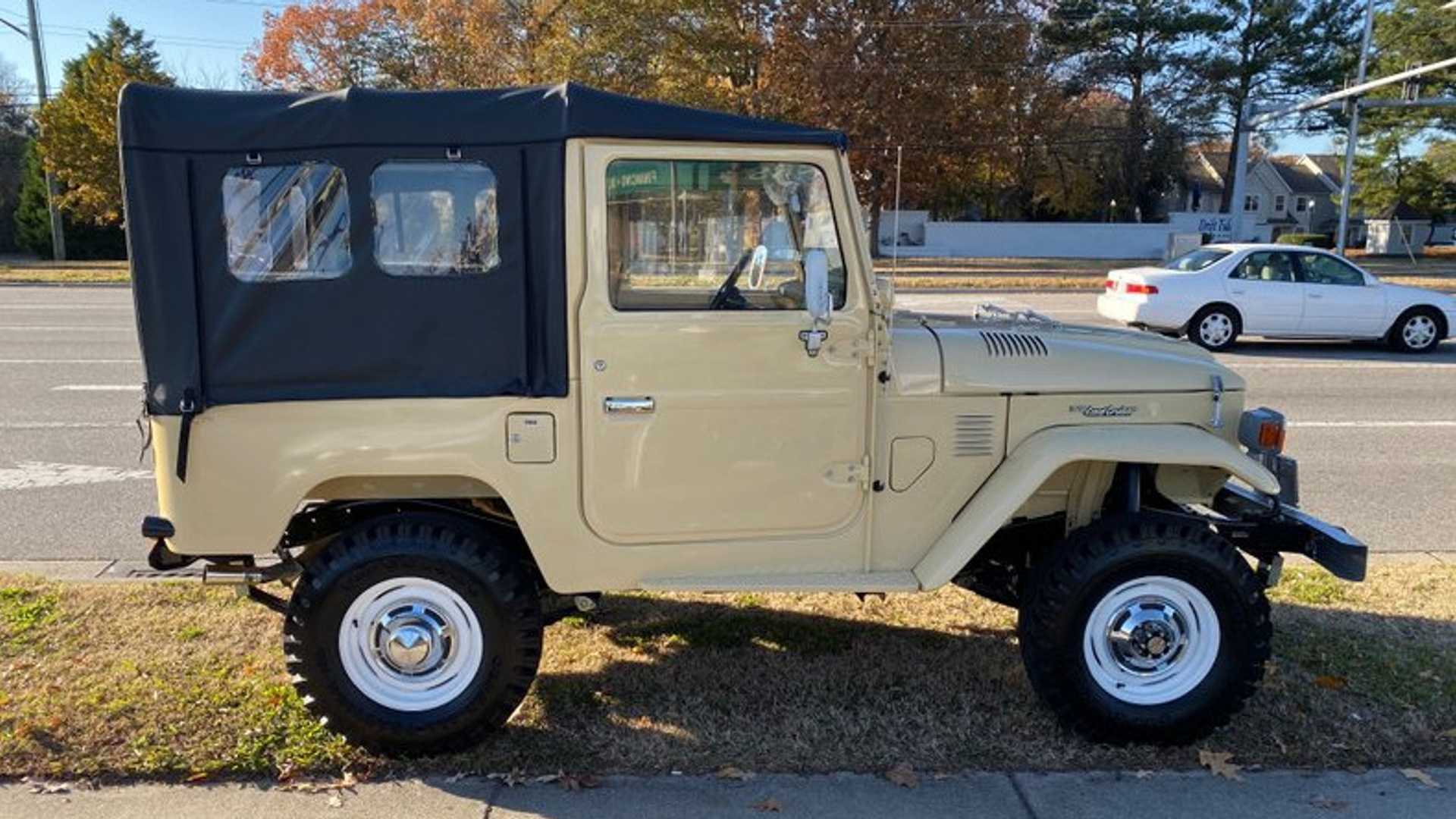 "[""Go Anywhere In This Restored 1980 Toyota FJ40""]"