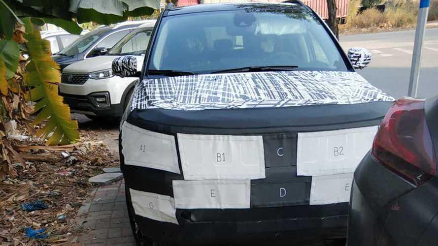 Flagra: Jeep Compass 2021 começa testes do novo visual