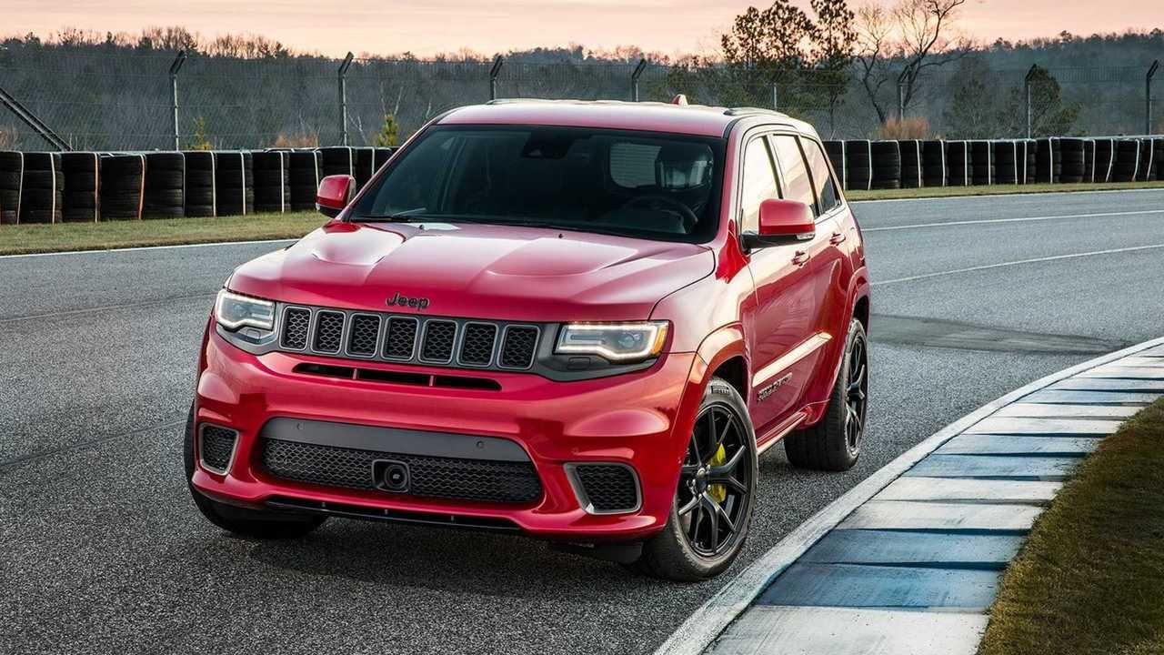2018+ Jeep Grand Cherokee SRT Trackhawk