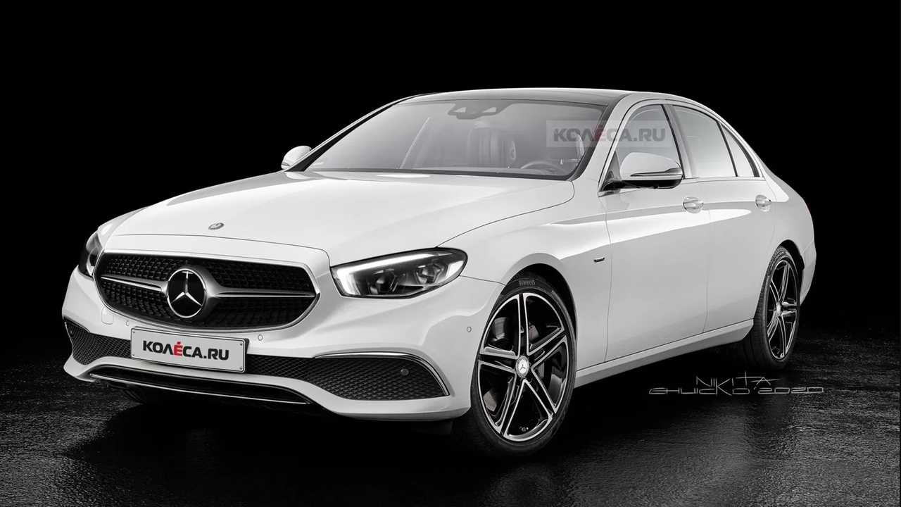 2021 Mercedes-Benz E-Class Facelift Rendering