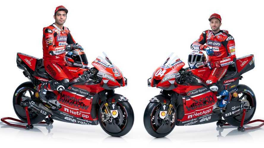 MotoGP 2020, Ducati svela la Desmosedici GP 20