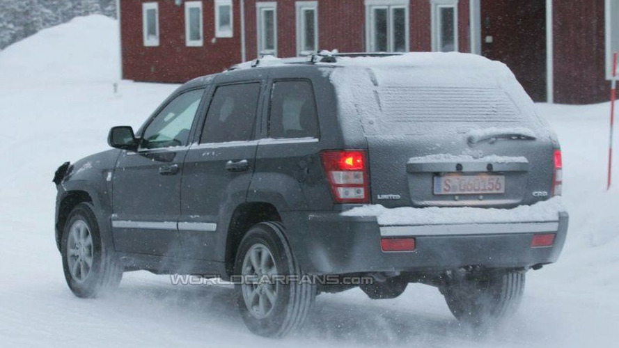 SPY PHOTOS: Jeep Grand Cherokee CRD