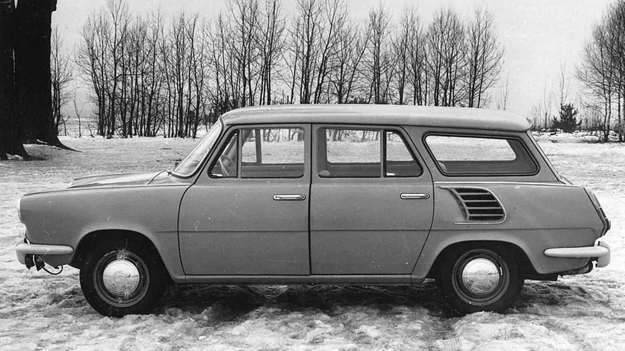 Концепт Skoda Type 990 Hajaja (1963)