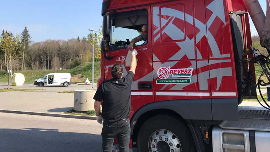 MAN ProfiDriver pranzo ai camionisti