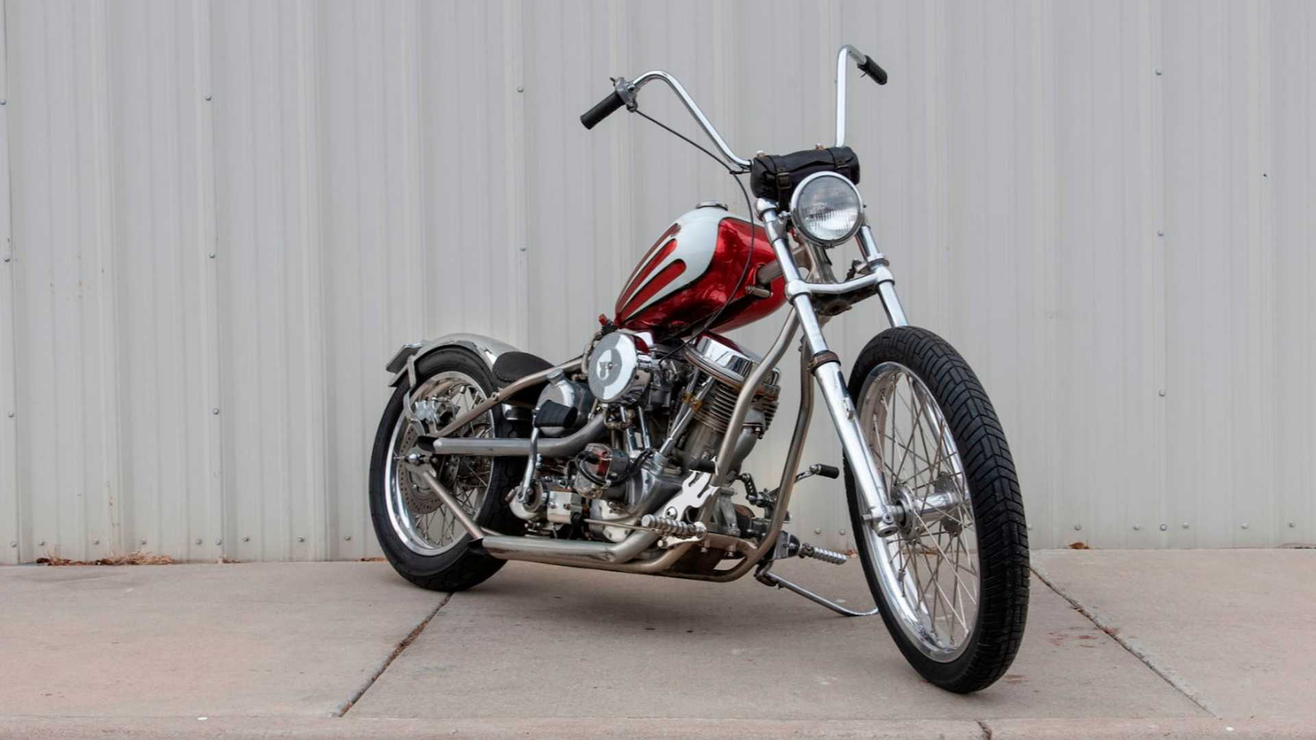 Two Indian Larry Custom Bikes Hit The Auction Block Soon