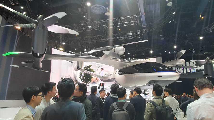 CES 2020: Hyundai e Uber mostram aeronave 100% elétrica em tamanho real