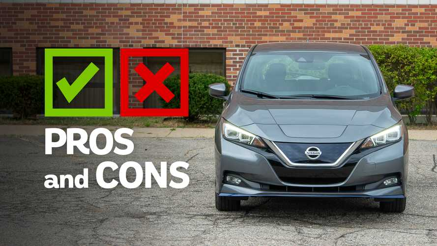 2020 Nissan Leaf SL Plus: Pros And Cons