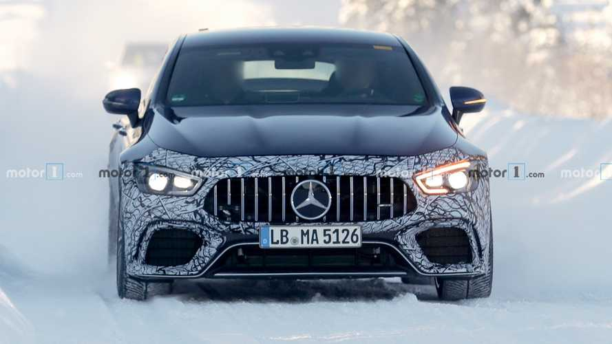 Mercedes-AMG GT 73 spy photos