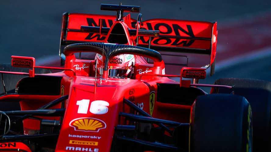 F1 Ferrari: ora è ultima in velocità, ma Leclerc fa il pompiere