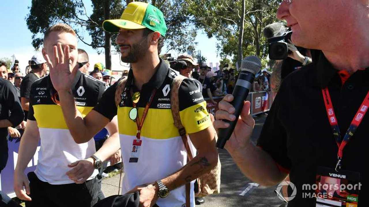 Daniel Ricciardo at Australian GP 2020